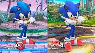 Super Smash Bros Wii U | Sonic Evolution