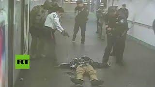 Revelan Imágenes Del Atentado Suicida Fallido En El Metro De Nueva York