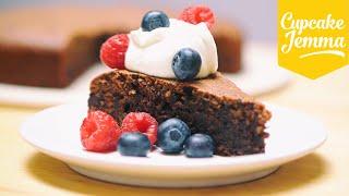 Gluten-Free Flourless Chocolate Cake | Cupcake Jemma