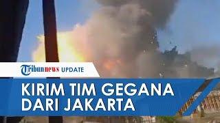 Ledakan di Gudang Amunisi Brimob di Srondol, Tim Gegana Dikirim dari Jakarta ke Semarang