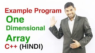 Download Youtube: One Dimensional Array  in C++  Example Program (HINDI)