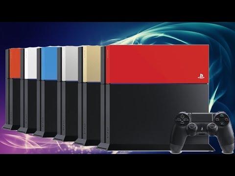 PlayStation 4 Festplattenabdeckung, silber
