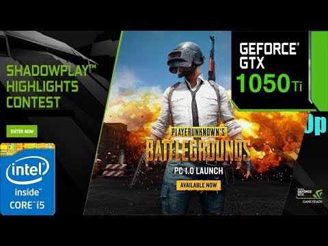 GTX 1050TI is not good enough for playin pubg