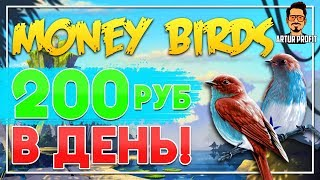 Как зарабатывать по 200 руб в день? Заработок на экономических играх / Заработок на money-birds.one