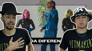 REAGINDO A Anitta With Ludmilla And Snoop Dogg Feat. Papatinho - Onda Diferente Official Music Video