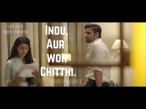 Indu Aur Woh Chitthi | Short Film | Ft. Subha Rajput, Vaibhav Tatwawaadi | By Ruturaj Dhalgade
