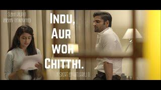 Indu Aur Woh Chitthi   Short Film   Ft. Subha Rajput, Vaibhav Tatwawaadi   By Ruturaj Dhalgade