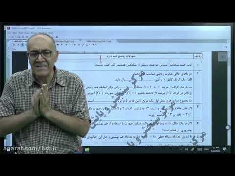 Twelfth Exam Night Class 7 - Discrete Mathematics online by Dr. Azizi
