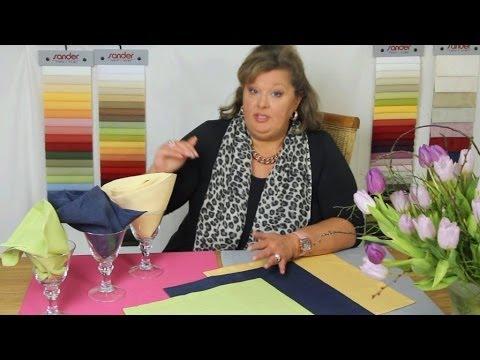 Linea, Gala oder Loft - welche Tischdecke ist für mich richtig?