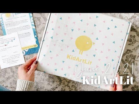 KidArtLit Unboxing June 2021