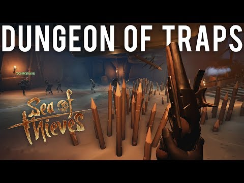 Dungeon of Traps - Sea of Thieves