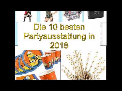 Die 10 besten Partyausstattung in 2018