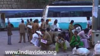 City bus-stand (CBS) at Mysore
