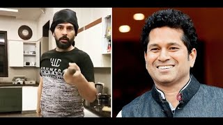 Yuvraj Singh challenges Sachin Tendulkar to break his record of 100 in kitchen