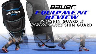 Ball Hockey Shin Pads Review - The Pro Shop With Dan and Bryan Episode 2