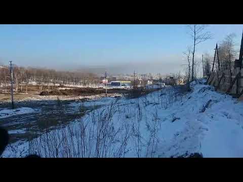 И снова угольная пыль! Порт Ванино (Хабаровский край). 23/12/2017