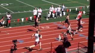 Larry Eason Invitational 2012, Boys 100M Dash Prelims