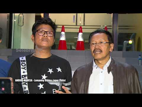 "ANDIKA MAESA ""Lampung Dihina , Lapor Polisi"" | Selebrita Siang 19 Juni 2019"