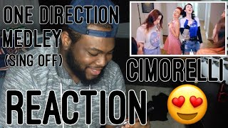 One Direction Medley (SING-OFF)   REACTION 