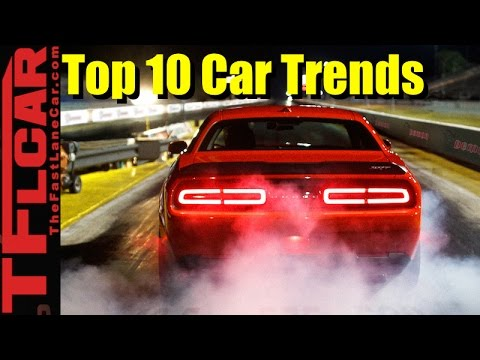 Live! TFLtoday - Top 10 New Car Trends That We Dig