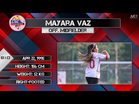 Mayara Vaz - goals and skills in China