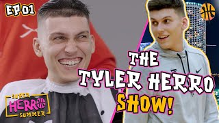 The Tyler Herro Show! Working Out, Getting Ready For The Baby, YACHTS & More 🔥 Ep 1