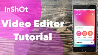 InShot Video Editor App Tutorial 3 Add Multiple Video Clips to One Project [English]