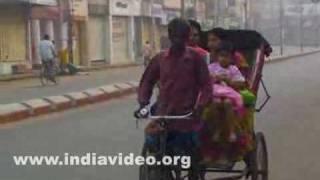Cycle rickshaws in Agartala