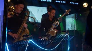 A.K.A. unknown extended orchestra - Morning Coffee (live at Galvanik, Zug)