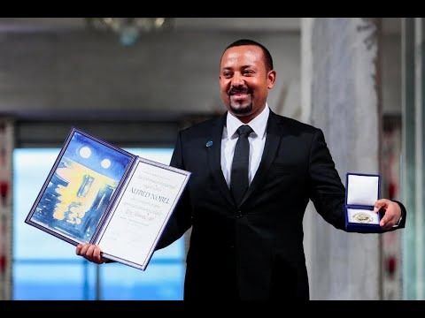 Accepting Nobel Peace Prize, Ethiopia's Abiy Ahmed calls for unity