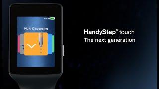 Pipeta krokovací HandyStep touch S, Brand