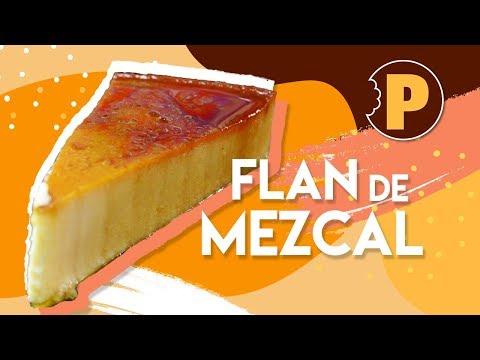 Vídeo Flan de Mezcal