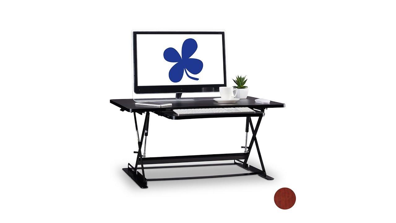 Video von: Sitz-Steh-Schreibtischaufsatz