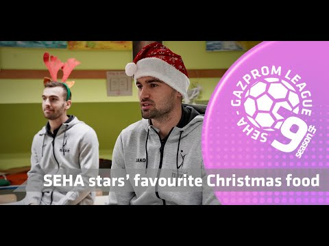SEHA stars and their favourite Christmas food