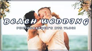 Behind The Scenes - Beach Wedding Photos W/ Steve Dampman
