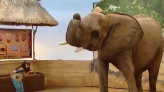 Barney  Big World Adventure  The Movie   English dub anime 4