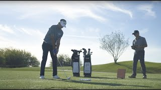 G410 5-PW, UW Black Dot Iron Set w/ AWT 2.0 Steel Shafts-video