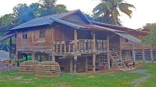 ตะลอนลาวก่อนไปเวียดนาม EP34:เยี่ยมยามเฮือนไทพวน เว่าจากับไทพวนบ้านบาน เมืองคำ แขวงเชียงขวาง