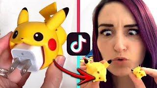 RECREATING TIK TOK MEME VIDEOS 10 (Buying Ridiculous Products)