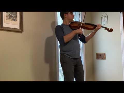 Campagnoli Caprice No.6 Op.22 for Violin, transcribed for Viola.