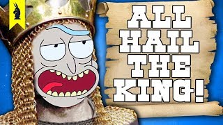 How Monty Python Shaped Modern Comedy (feat. Rick and Morty & Deadpool) – Wisecrack Edition