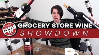 Grocery Wine Showdown (Cabernet Under $20)