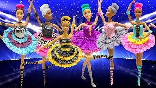 Play Doh Ballerina Barbie LOL Surprise Dolls  Inspired Costumes