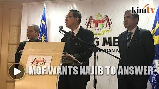 MOF wants Najib to answer for RM9.4b SSER projects