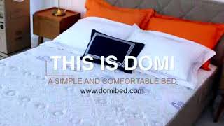 Domi Argos Pocket Spring  160x200 Full Set Springbed Rolled Mattress