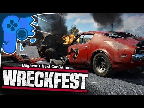Next Car Game: Wreckfest | Havin A Bash!