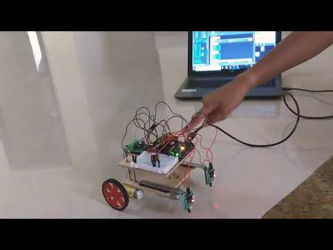 Edge Detection Robot using Arduino - Skyfi Labs School