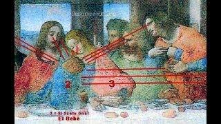 "Los misterios en la pintura ""La última cena"" de Leonardo Da vinci"