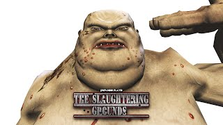 DXFan619 Plays - The Slaughtering Grounds (Worst FPS I've Ever Played)