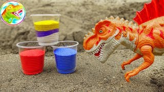 Learn fun colors with dinosaurs - F439C ToyTV children's toys